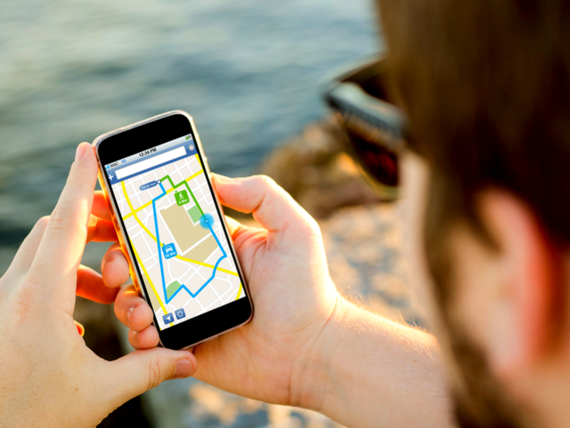 using Google Maps on the phone