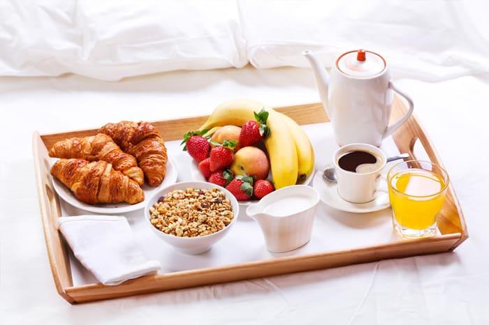 idées de TPE originale : la livraison de petit-déjeuner à domicile