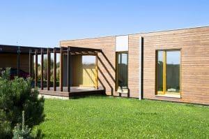 idée de TPE originale : les maisons écologiques en kit