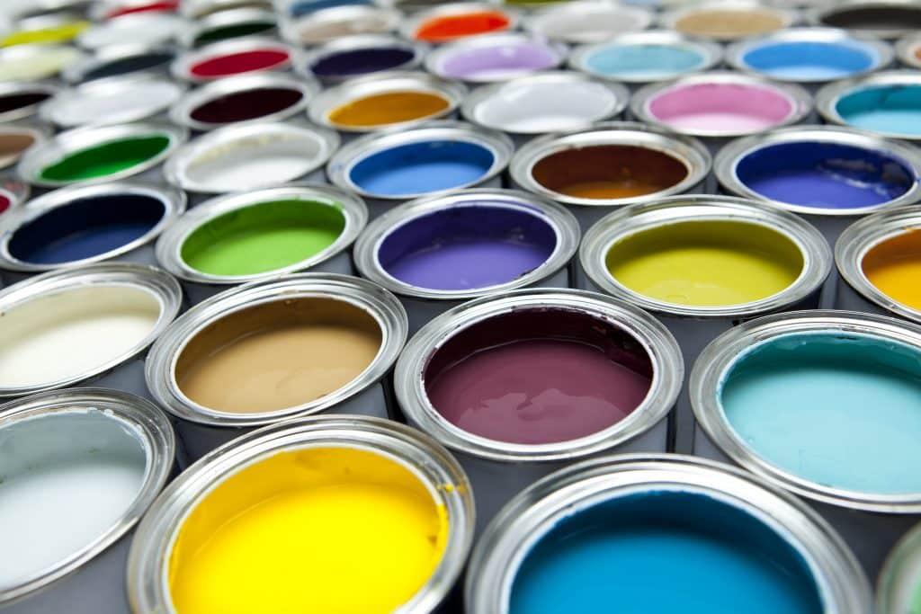 several paints
