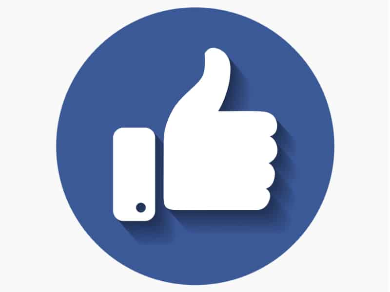 Facebook Daumen-hoch Symbol