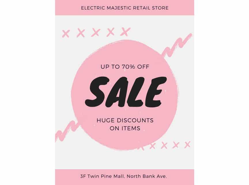 An Instagram Sales Image