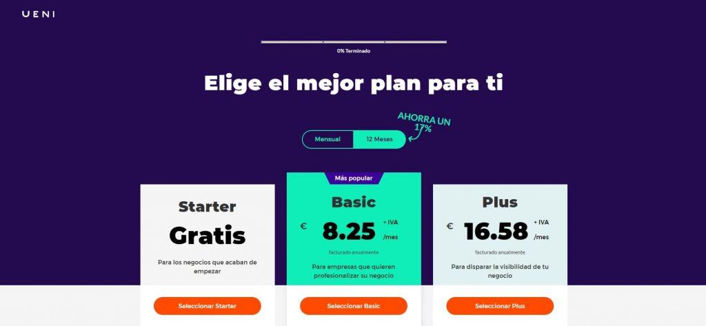 como abrir crear pagina web profesiona gratis cuarto paso