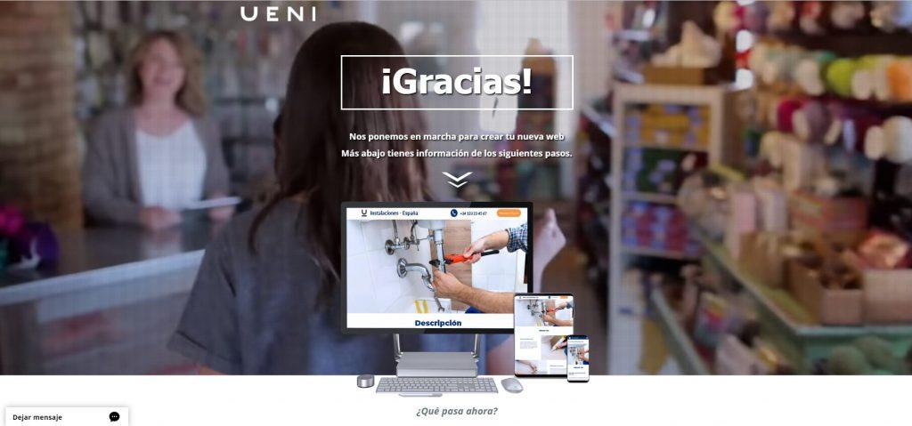 como abrir crear pagina web profesiona gratis noveno paso
