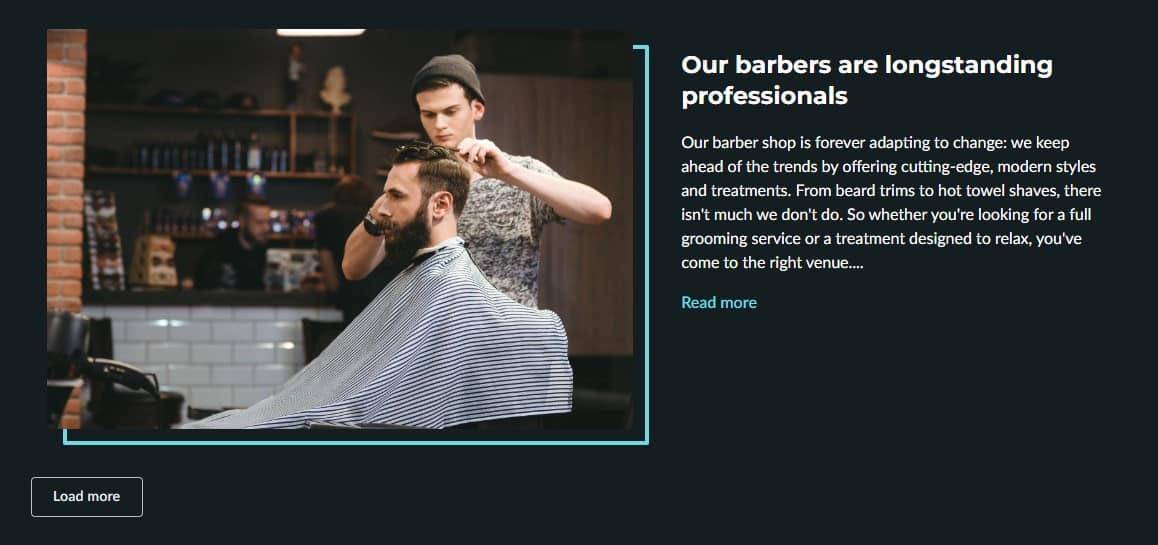 BarberShop Read More Modern