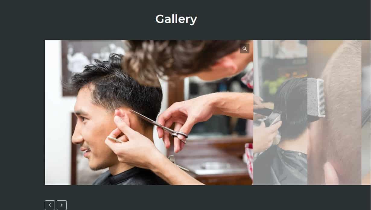 Barbershop Gallery Modern