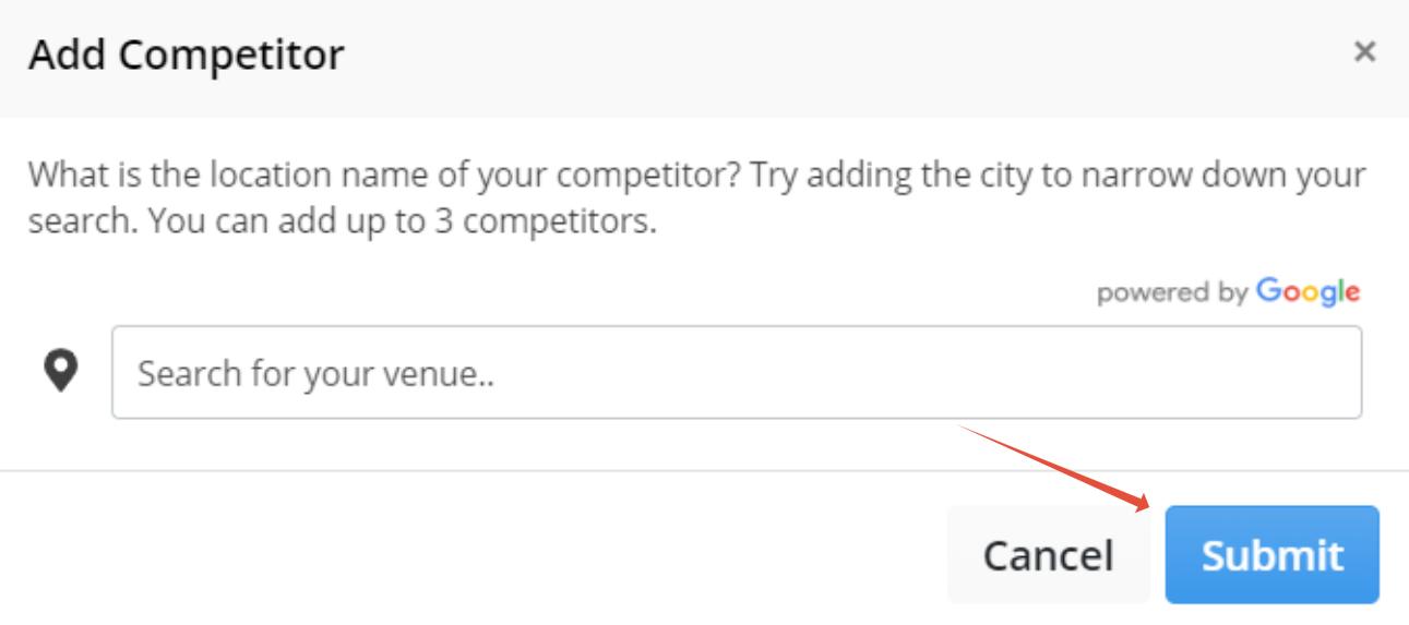 Add Competitor