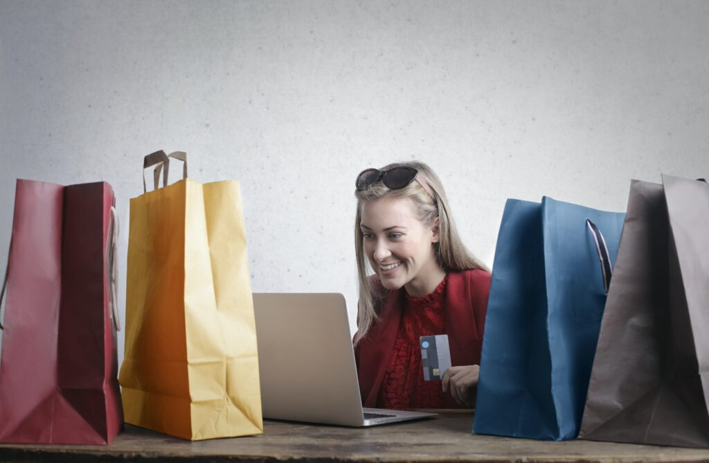 Happy Woman Shopping Online By Andrea Piacquadio 1024x668