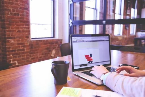 Person Designing New Logo At Desk By Startup Stock Photos 1