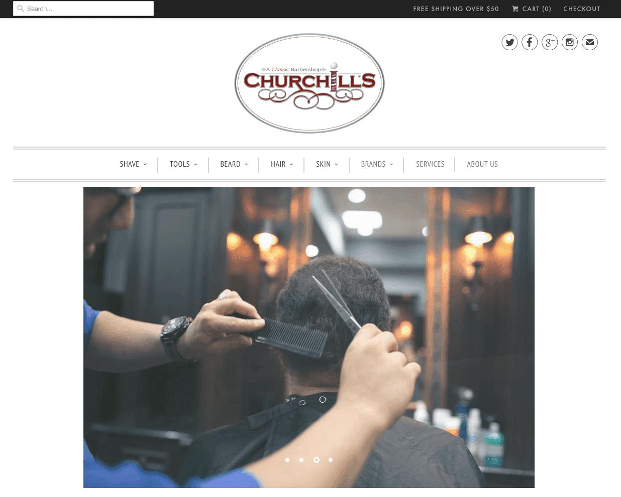 Churchills Barbershop