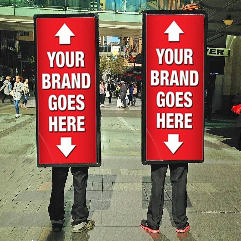Hire Human Billboard