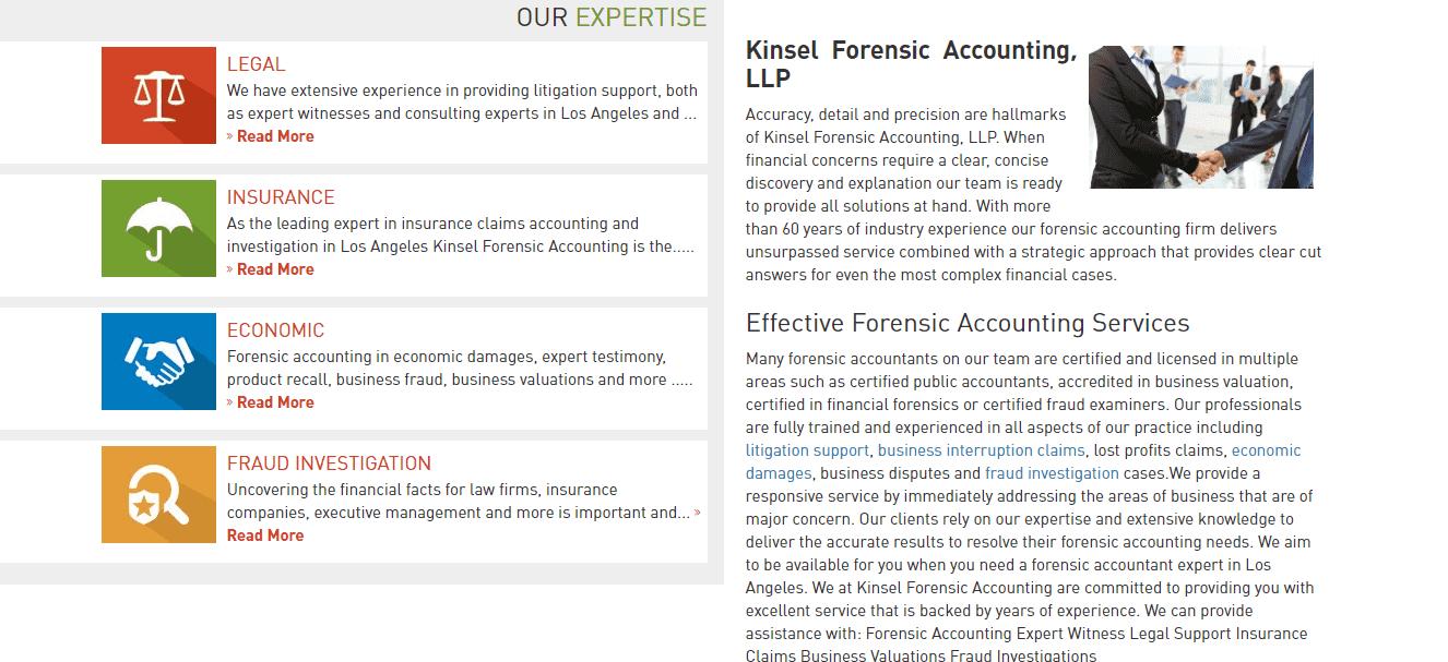 Kinsel Forensic Accounting LLP