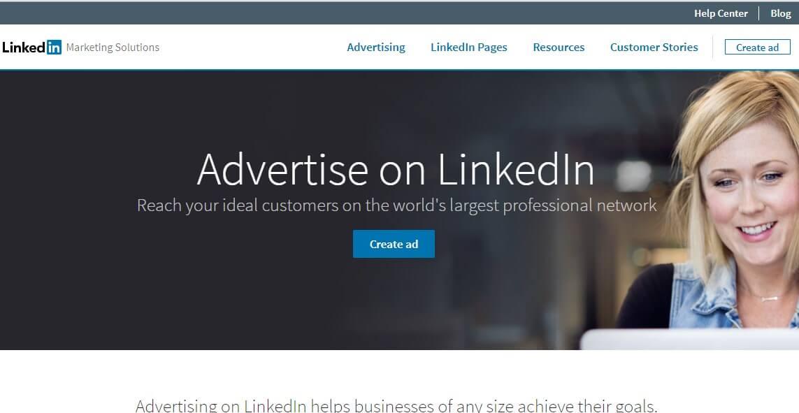 Advertising Linkedin