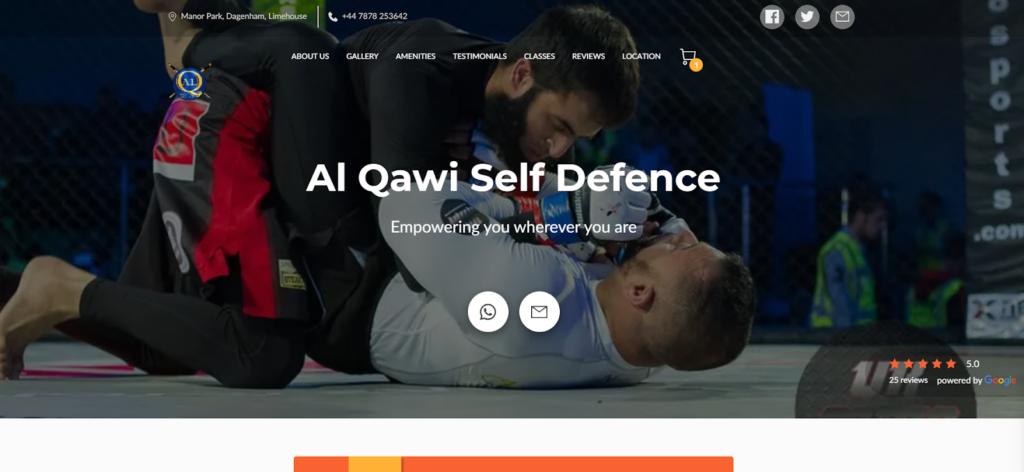 Al Qawi Self Defence Website