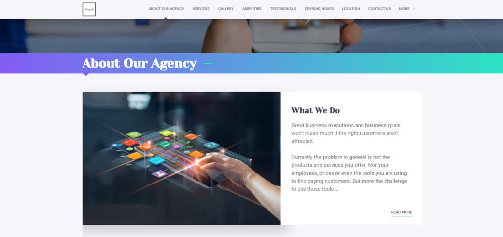 Alexander Twelve – small business website