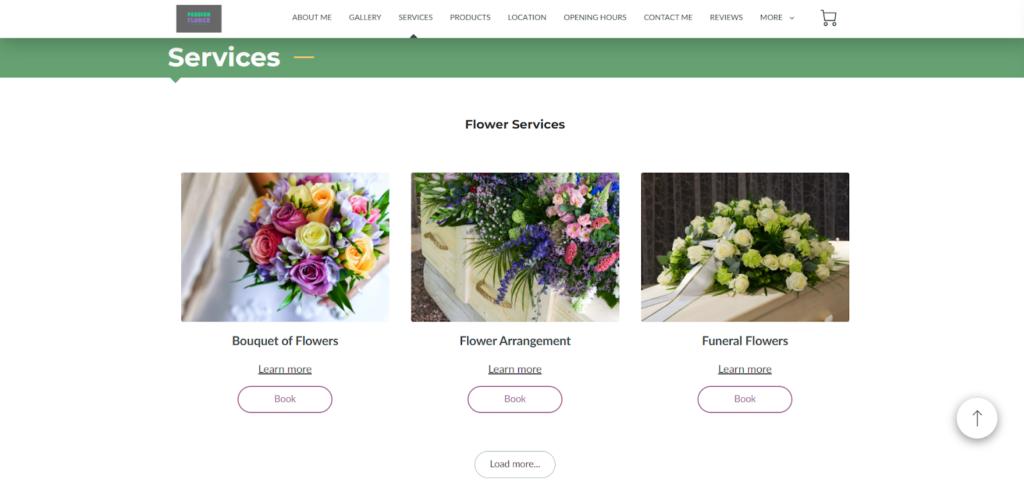 Passion Flower website
