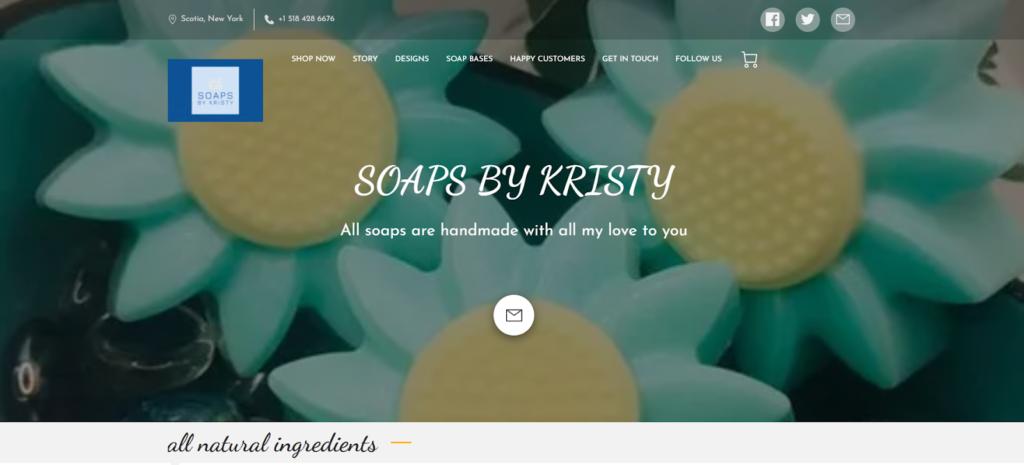 Soaps by Kristy website