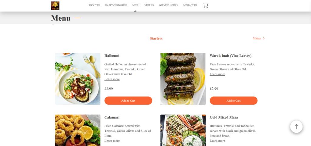 Brince - Lebanese Restaurant in London