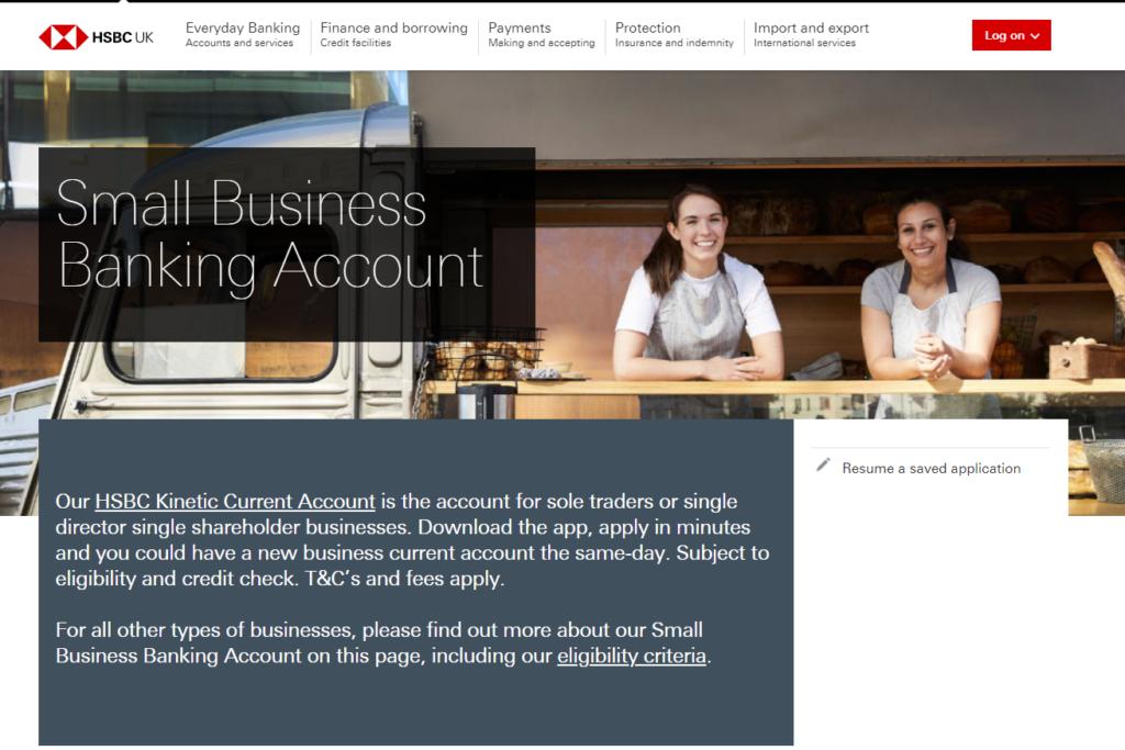 HSBC Business Current Account