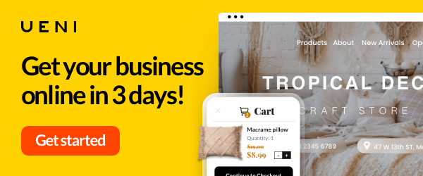 Get your business online in three days!